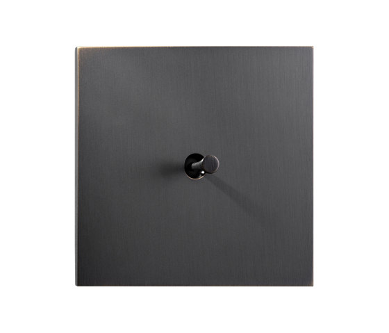 Facet - Medium bronze - Cone Lever by Atelier Luxus | Toggle switches