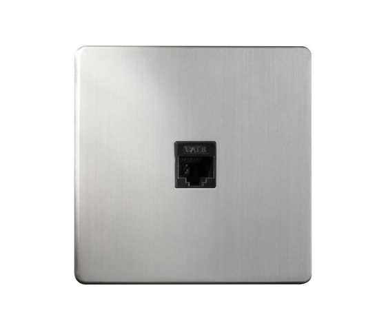 Grace - Brushed nickel - RJ by Atelier Luxus | Ethernet ports
