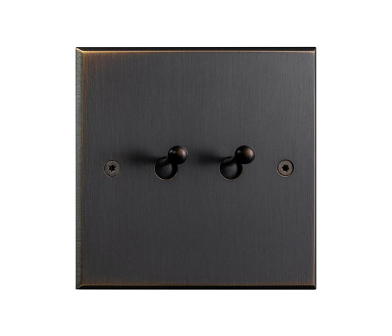 Hope - Medium bronze  - Water drop lever by Atelier Luxus | Toggle switches