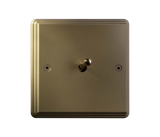Hope - Brushed brass - Water drop lever by Atelier Luxus | Toggle switches