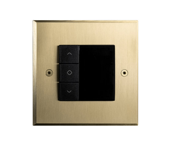 Hope - Brushed brass -Thermostat by Atelier Luxus | Heating / Air-conditioning controls