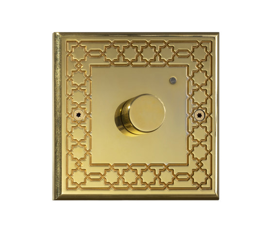 Hope - Mirror brass - Custom-made by Atelier Luxus | Heating / Air-conditioning controls