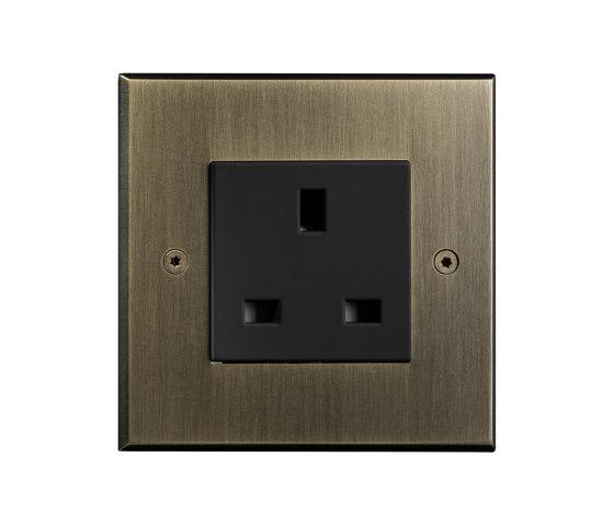Hope - Old gold - UK socket by Atelier Luxus | British sockets