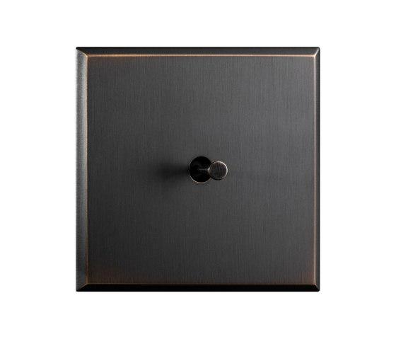 Regent - Medium bronze - Cone lever by Atelier Luxus   Toggle switches