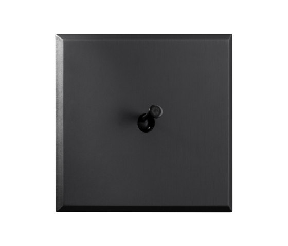 Tiara - Matbronze - conelever by Atelier Luxus | Toggle switches
