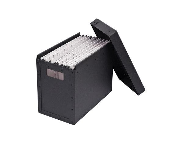 Archive standard, graphite by BIARO | Storage boxes