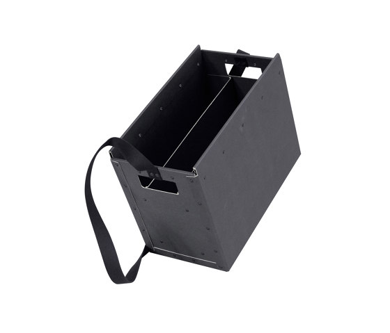 Portable, graphite by BIARO | Storage boxes