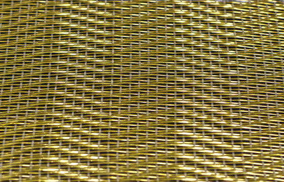 Effects A-1764 | golden by Naturtex | Metal meshes