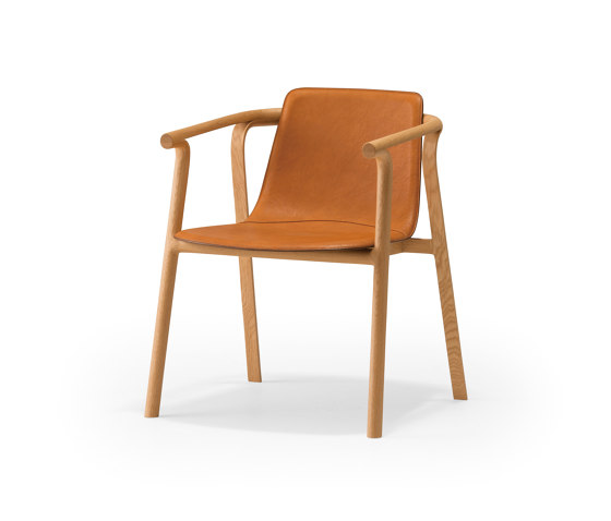 Splinter Armchair - thick leather by Conde House | Chairs
