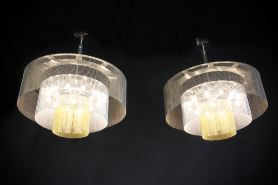 3-Tier - 700 - suspended by Willowlamp | Suspended lights