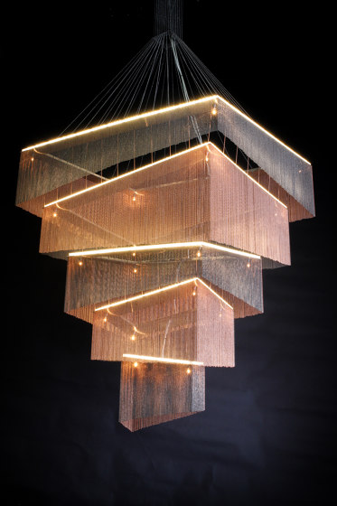 Geometric Storm - 1200 by Willowlamp | Suspended lights
