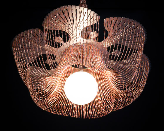 Moonflower - 500 by Willowlamp | Suspended lights