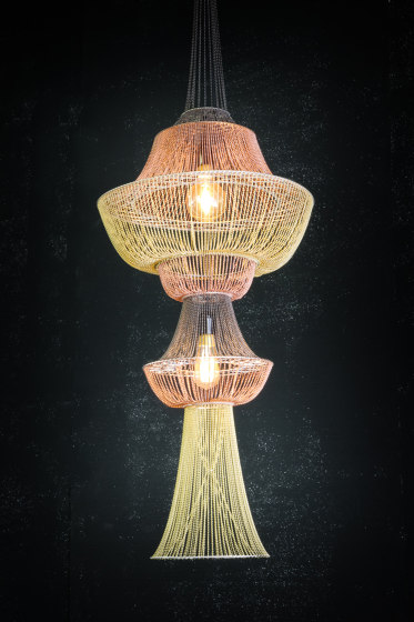Moroccan Vases - 1 Large by Willowlamp | Suspended lights