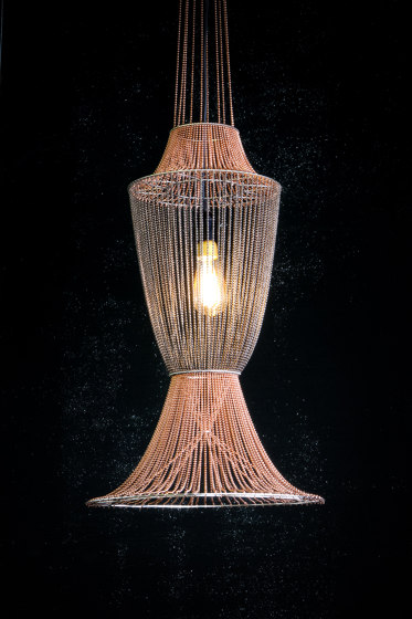 Moroccan Vases - 2 Large by Willowlamp | Suspended lights