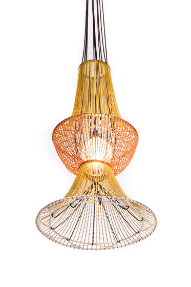 Moroccan Vases - 3 Large by Willowlamp | Suspended lights