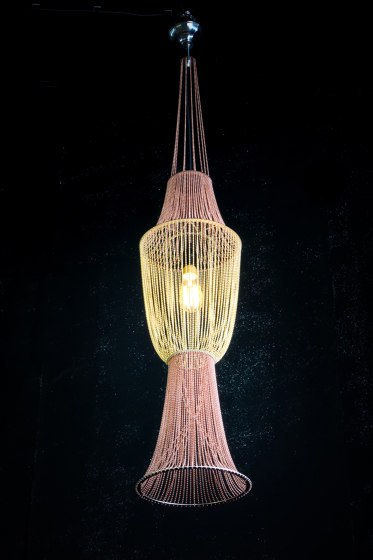 Moroccan Vases - 4 Large by Willowlamp   Suspended lights