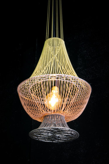 Moroccan Vases - 5 Large by Willowlamp | Suspended lights