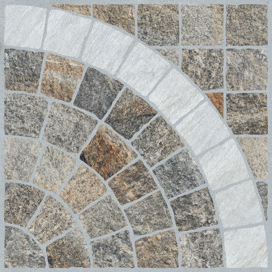 Emilia Multicolor | Arco Bianco de Rondine | Panneaux céramique