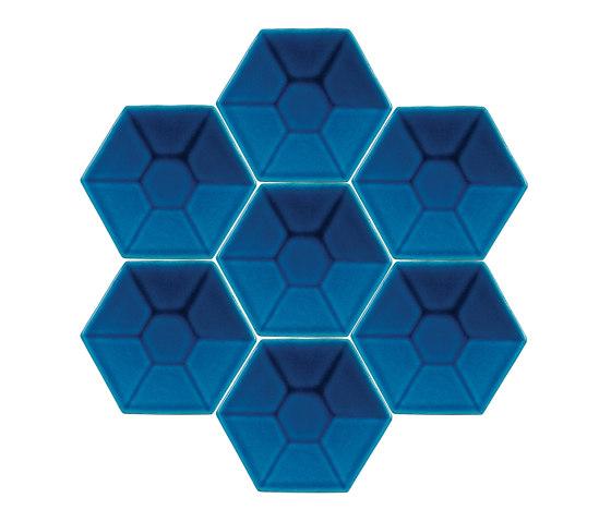 Relief-Hexagon-11-002 di Karoistanbul | Piastrelle cemento