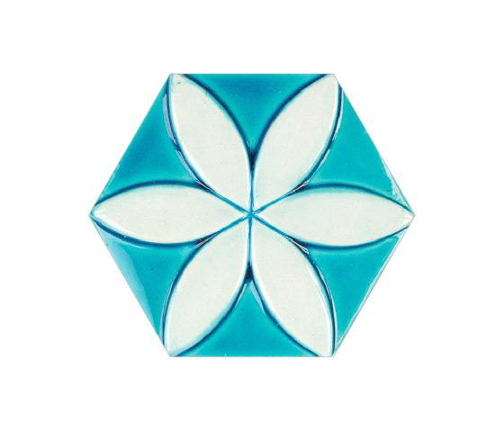 Relief-Hexagon-15-001 di Karoistanbul | Piastrelle cemento