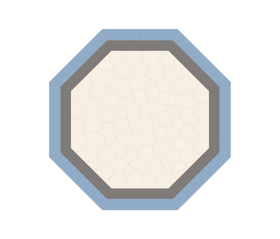 Bisantic-Relief-Octagon-001 by Karoistanbul | Concrete tiles