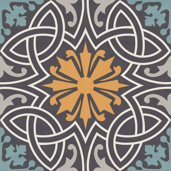 Complex-Traditional-031 by Karoistanbul | Concrete tiles