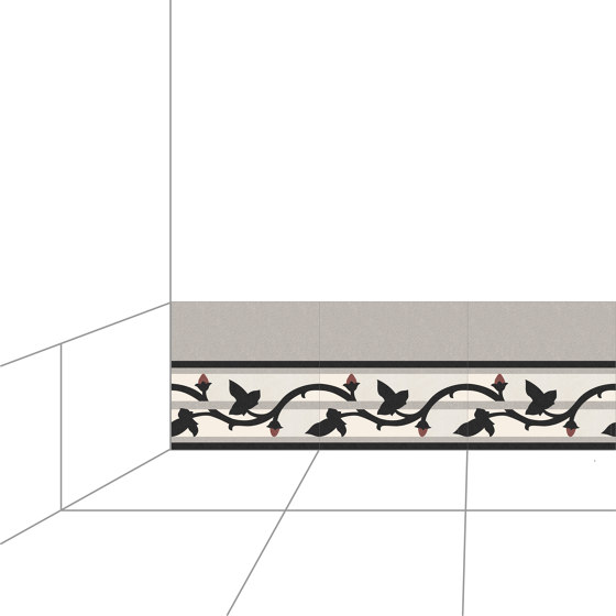 Plinth-25x25-002 di Karoistanbul | Piastrelle cemento