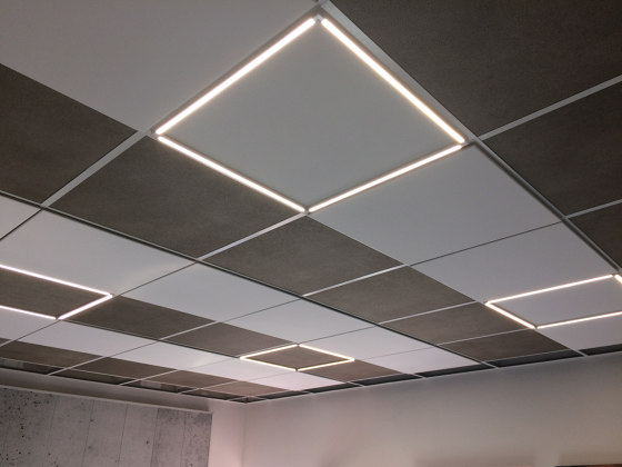 Lumino Sonic by OWA | Acoustic ceiling systems