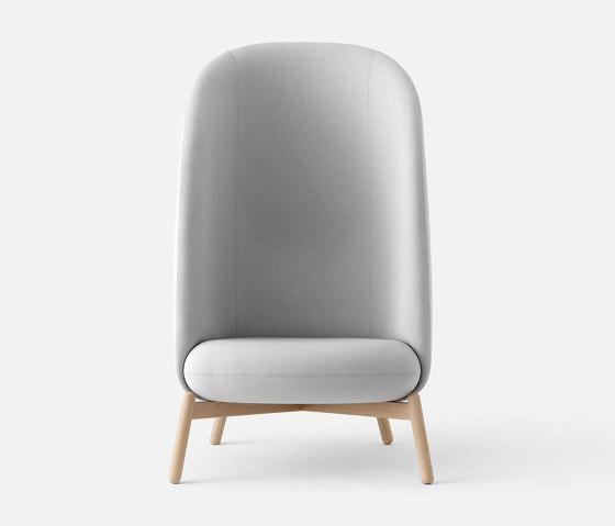 Easy Nest XL Chair Wood di +Halle   Poltrone