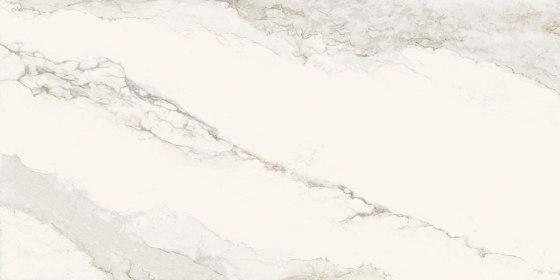 Larsen iTOP Super Blanco-Gris Matt Polished de INALCO | Panneaux matières minérales