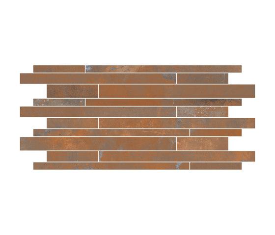 Oxyd Corten | Muretto by Rondine | Ceramic tiles