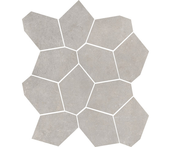 Concrete Sand | Mosaico di Rondine | Piastrelle ceramica