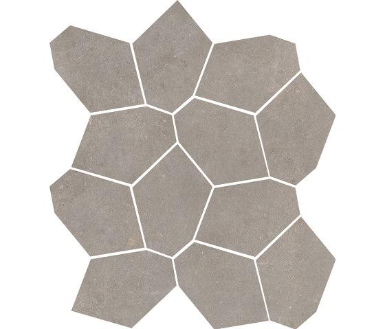 Concrete Taupe   Mosaico by Rondine   Ceramic tiles
