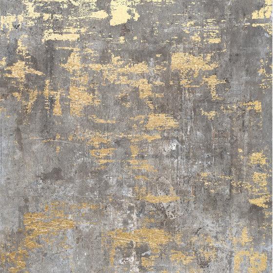Murales Dark | Decoro Brass by Rondine | Ceramic tiles