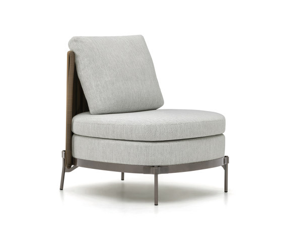 Tape Cord Outdoor armchair by Minotti   Armchairs