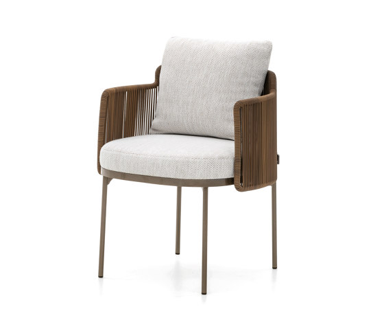 Tape Cord Outdoor little armchair by Minotti   Chairs