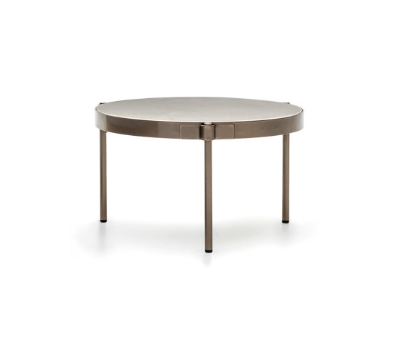 Tape Cord Outdoor coffee table by Minotti | Side tables