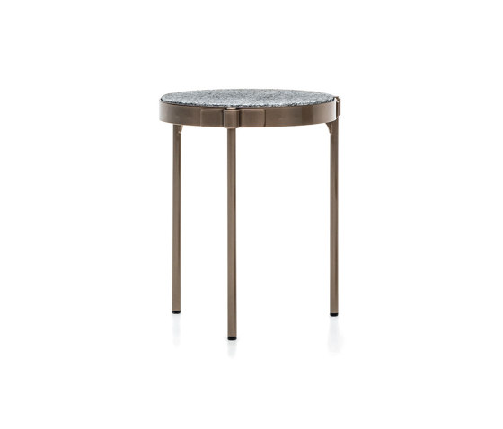Tape Cord Outdoor coffee table de Minotti | Mesas auxiliares
