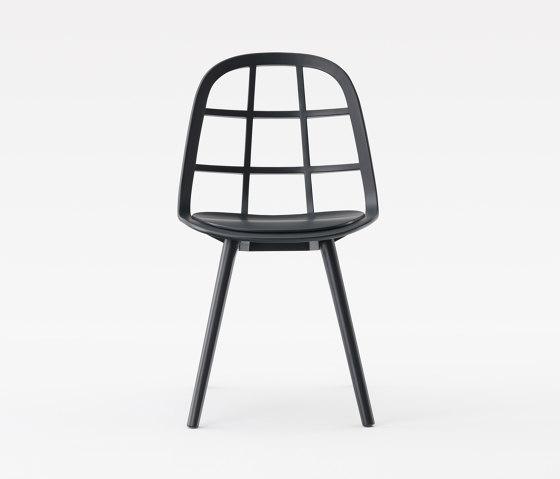 Nadia Chair Black di Meetee   Sedie