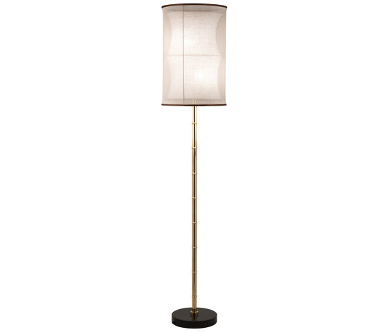 Bamboo | Bamboo stalk floor lamp by Il Bronzetto - Brass Brothers & Co | Free-standing lights
