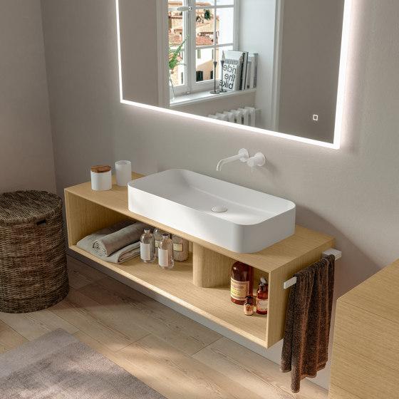 Ceramic Washbasins Thin by Berloni Bagno | Wash basins