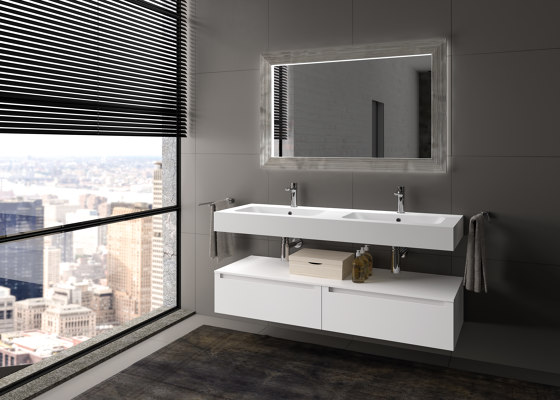 Righe by Berloni Bagno | Bath mirrors