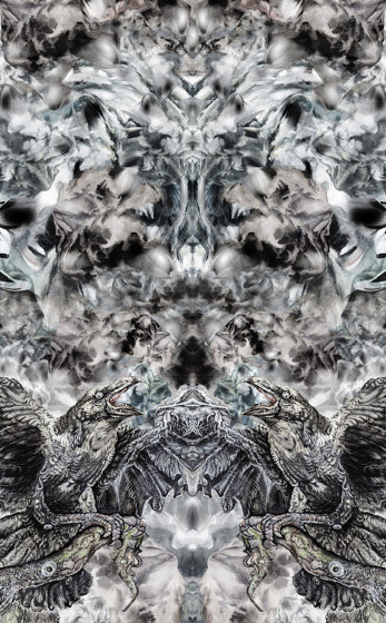 Raven   artist wallpaper by Ginny Litscher   Wall coverings / wallpapers
