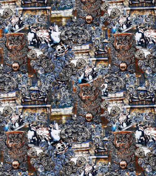 Skulls   artist wallpaper by Ginny Litscher   Wall coverings / wallpapers