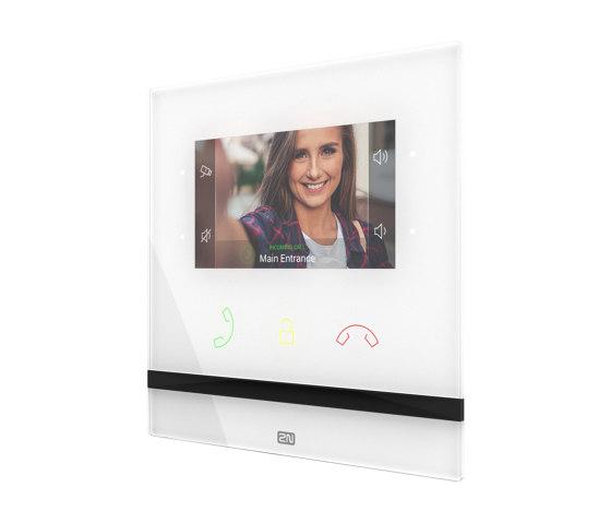 2N® Indoor Compact white by 2N Telekomunikace | Intercoms (interior)