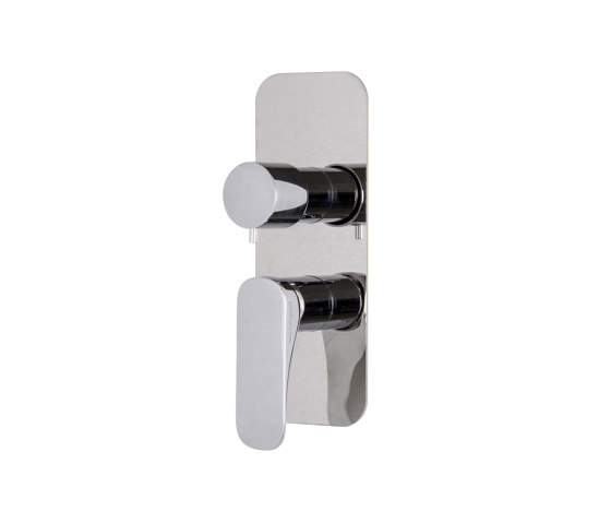 Quad F3729X6 | Built-in mixer with 2/3 outlets diverter by Fima Carlo Frattini | Shower controls
