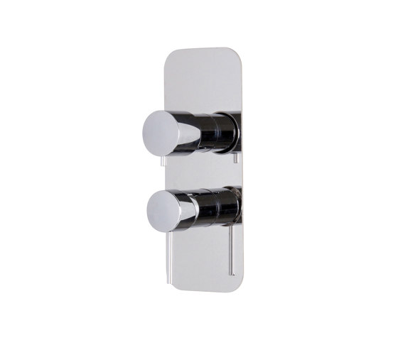 Spillo Up F3039X6 | Built-in mixer with 2/3 outlets diverter by Fima Carlo Frattini | Shower controls