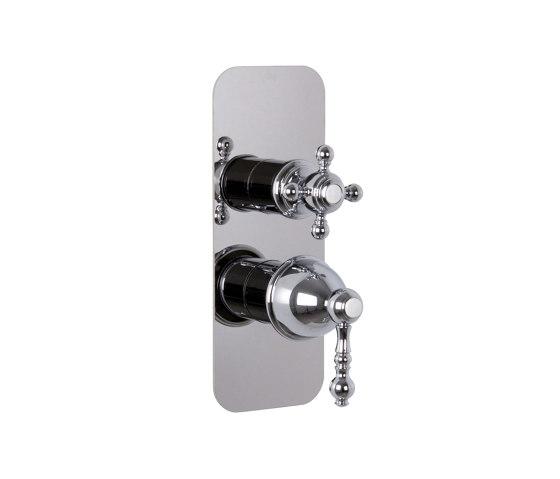 Elizabeth F5089X6 | Mezclador empotrado con desviador 2/3 salidas de Fima Carlo Frattini | Grifería para duchas