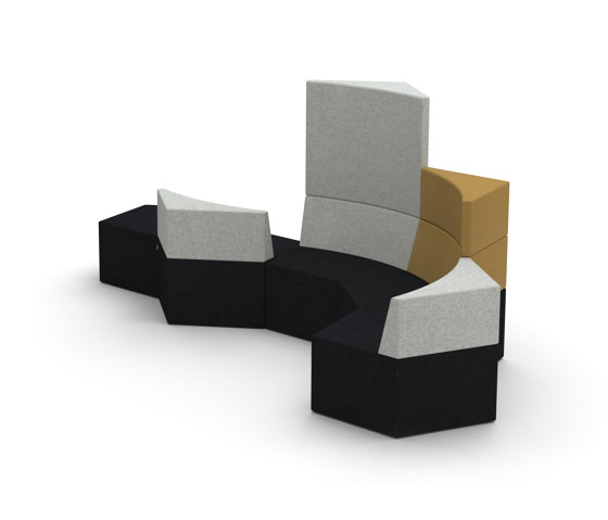 Manhattan Penta by Softrend | Benches