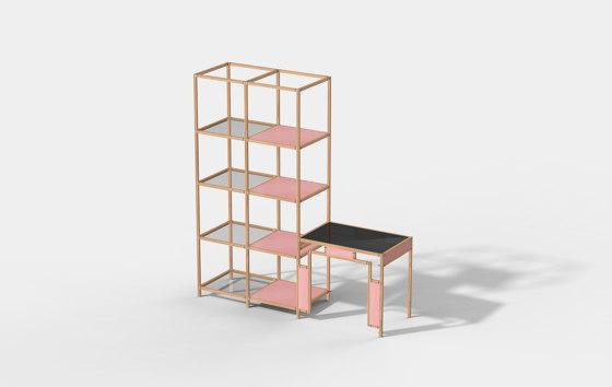 Cabinet + Desk Connect de Cartoni Design | Estantería